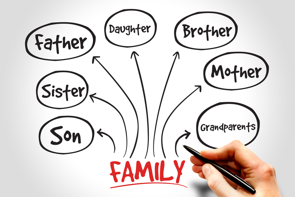 mind map on family types Description: here is a free customizable personality mind map template provided for download and printin addition to smart and automatic shapes, various vivid clip art are also available for bringing your maps to life.