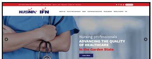 New Jersey State Nurses Association Website